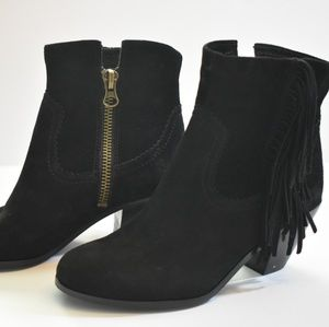 Sam Edelman Louie fringed suede boots